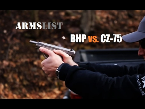 Browning Hi-Power vs. CZ-75: 9mm Comparo