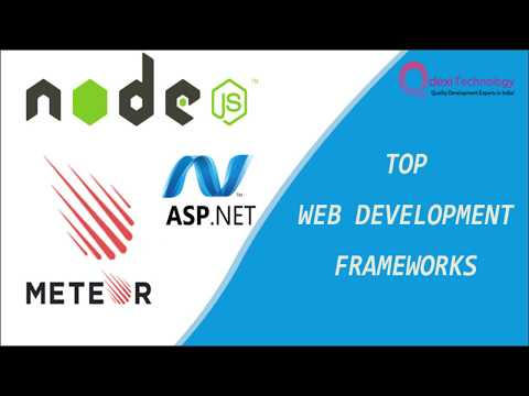 Top Web Development Frameworks You Need To Know About