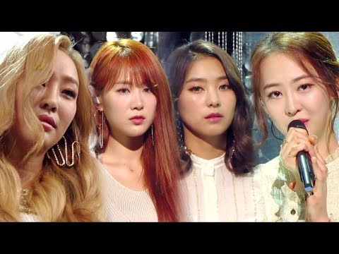 《Goodbye Stage》 SISTAR - LONELY @인기가요 Inkigayo 20170604