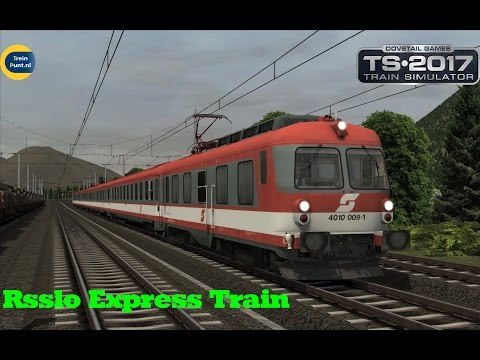 Rsslo Express Train | Tirol Austria | OBB 4010 | Train Simulator 2017
