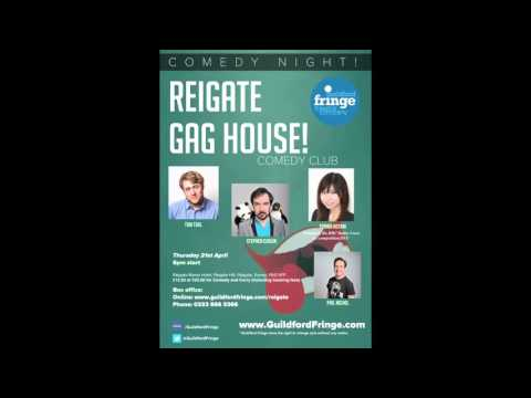 Reigate Gag House Comedy Club - Nick Wyschna