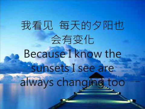 張韶涵- 隐形的翅膀 (Invisible Wings- Angela Zhang- English translation)