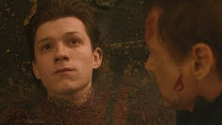Avengers Infinity War / Spider-Man Death Scene (Mr. Stark I Don't Feel So Good)