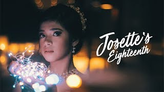 Josette XVIII : Starry Night at Cities Events Place