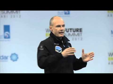 Bertrand Piccard's 2012 World Future Energy Summit Intervention Excerpt