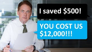 Reddit Malicious Compliance 👪 HR wanted to save $500! IT COST $12,000!