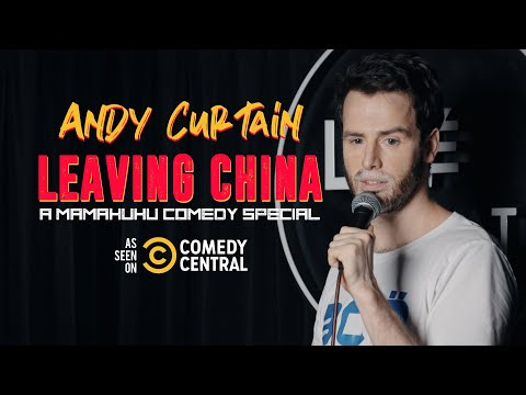 Andy Curtain | Leaving China (Full Comedy Special)