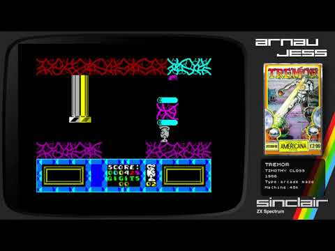TREMOR Zx Spectrum by Timothy Closs