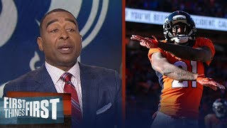 Cris Carter reveals what adding Aqib Talib and Marcus Peters means for Rams | FIRST THINGS FIRST