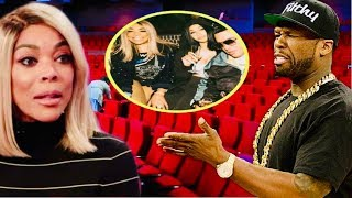 WENDY WILLIAMS GETS EMBARRASSED BY 50 CENT~WENDY CANCELLING SHOWS DUE TO LOW TICKET SALES