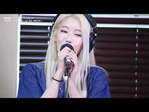 [Live on Air] PRISTIN V - Spotlight , 프리스틴 V - Spotlight[정오의 희망곡 김신영입니다] 20180614