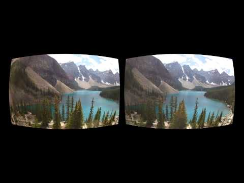 Oculus Rift 3D GoPro Movie - Canada 03 Moraine Lake