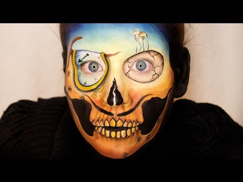 Baixar Beautiful Death Skull Series: Salvador Dali Skull