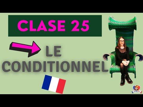 Clase De Francés🔵⚪🔴 👉  Le conditionnel en français