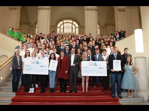 Preisverleihung Bundes-Schülerfirmen-Contest 2015