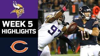 Vikings vs. Bears   NFL Week 5 Game Highlights