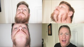 TRYING SOME NEW BEARD STYLES!