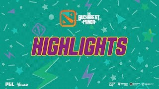 The Bucharest Minor Highlights  Gambit Esports vs OG Day 1 Playoffs