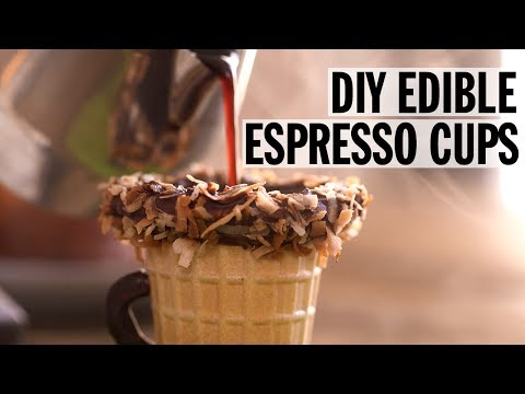 How to Make Edible Espresso Cups | Food Network