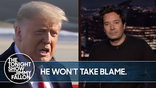 Trump Denies Responsibility for Capitol Riots | The Tonight Show