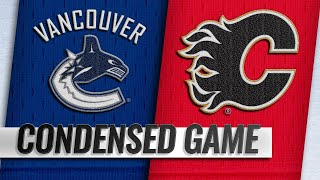 12/29/18 Condensed Game: Canucks @ Flames
