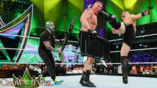 WWE December 2019 _Brock Lesnar Vs Cain Velasquez Full Match_At Crown Jewels 2019_WWE Replay