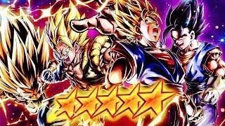 BEST Fusion Team! 498% Super Vegito & FREE Base Vegito in Dragon Ball DB Legends