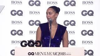 Jorja Smith wins Vero Breakthrough Solo Artist | GQ Awards 2018 | British GQ