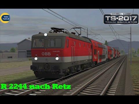 R 2244 nach Retz | ÖBB 1144 | Sudbahn  | Train Simulator 2017