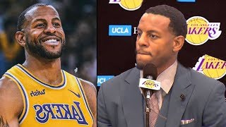 Andre Iguodala Trade To Lakers - Joining Lebron James, Anthony Davis & Kyle Kuzma