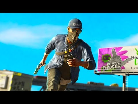 THE BEST FREEROAM GAME EVER! Watch Dogs 2 PC Lets Play (Watch Dogs 2 Funny Moments)