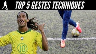 Comment Dribbler Comme Ronaldinho - 5 Gestes Techniques