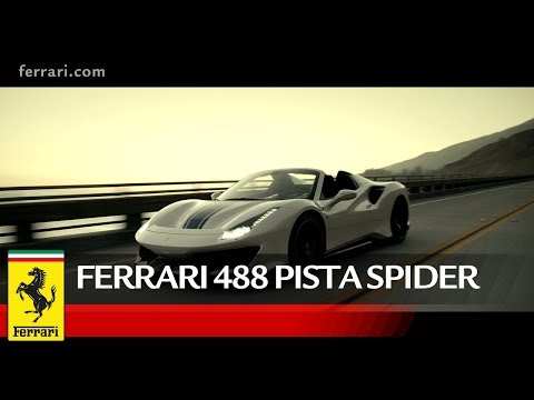 Ferrari 488 Pista Spider - Official Video