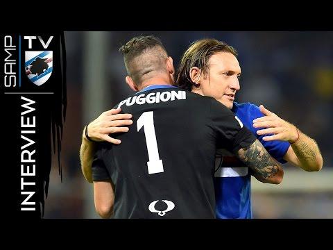 Sampdoria-Atalanta, Barreto: «Felice per il gol e per la vittoria»