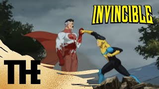 (HD, 60FPS) Invincible Vs Omni-man! | Invincible | Season 1 Finale | Episode 8 #invincible