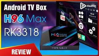 Android TV Box Giá 950K | Enybox H96 MAX Android 9.0 - RK3318 [Hieuhien.vn]