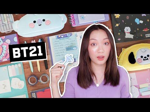 Testing BT21 Stationery ✧ journal kits, notebooks, washi tapes!