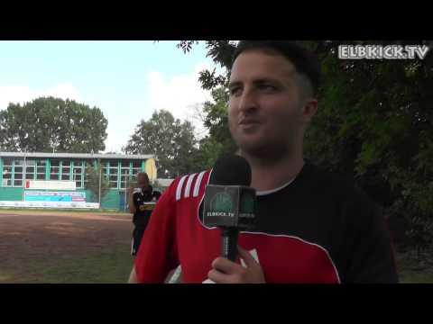 Torsten Haase (TSV Neuland) und Javad Akbari (FTSV Altenwerder) - Die Stimmen zum Spiel | ELBKICK.TV