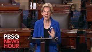WATCH: Elizabeth Warren calls on Congress to impeach Trump