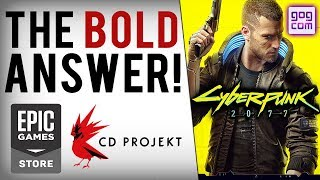 CD Projekt Red's Answer To Epic Games Store/Steam Mess & Cyberpunk 2077 New Image/E3 2019 Info!