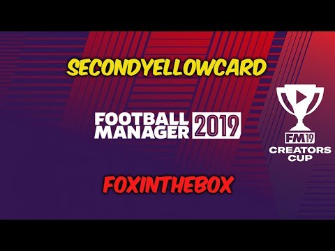 Second Yellow Card v FoxInTheBox! (First Leg) | Football Manager Creators Cup