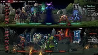Bungcast: Team Secret vs Vici Gaming GAME 1 DreamLeague Season 11  Upper Bracket Round One