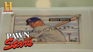 Pawn Stars: Mickey Mantle's Rookie Card (Season 16) | History