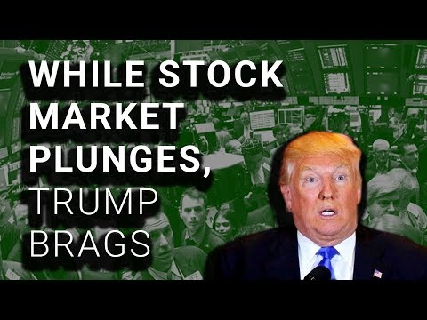 Trump Brags About Economy During Massive Stock Market Crash