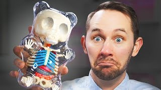 I Dissected A GIANT Gummy Bear!   10 Strange Amazon Products