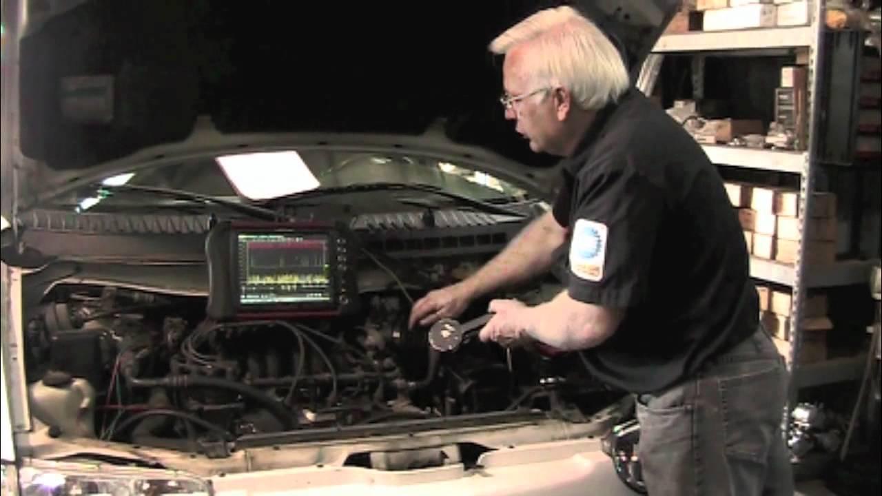 Nissan Distributor Cam Sensor Fault Youtube