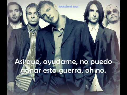 Backstreet Boys Shape Of My Heart (traducida al español)