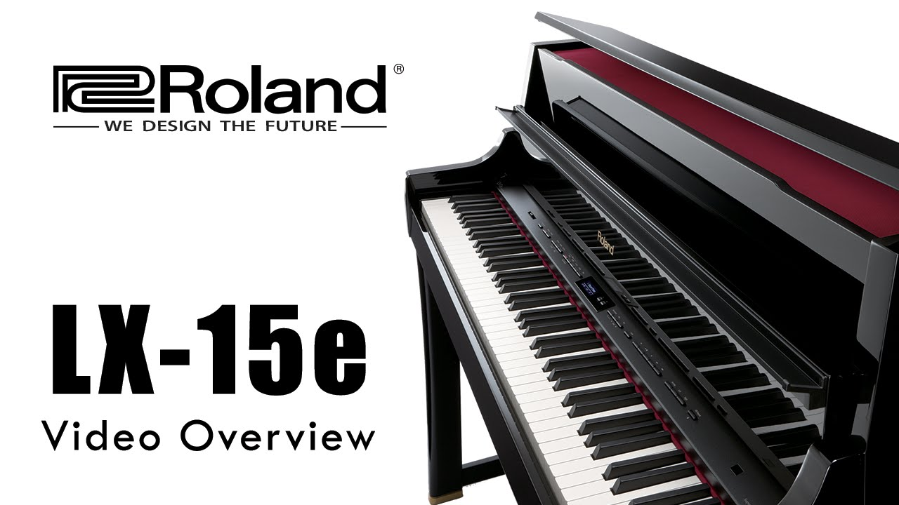 roland lx 15e luxury digital piano video overview 2015 youtube. Black Bedroom Furniture Sets. Home Design Ideas