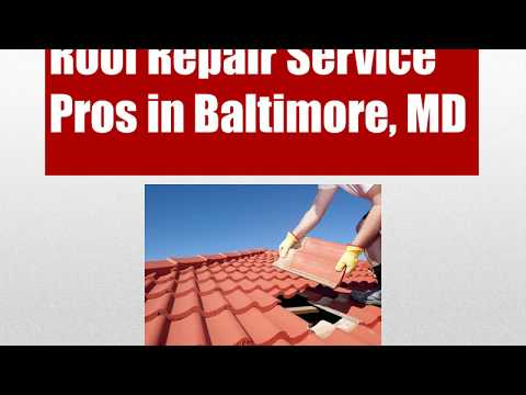 Roof Repair Service in Baltimore