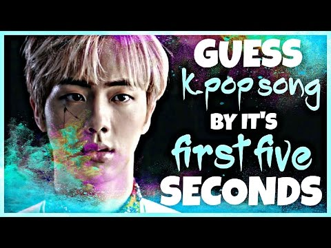 GUESS KPOP SONG BY IT'S FIRST FIVE SECONDS #2